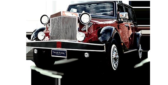 Vintage Car 1940 negro